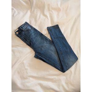 Garage High Waist Skinny Jeans